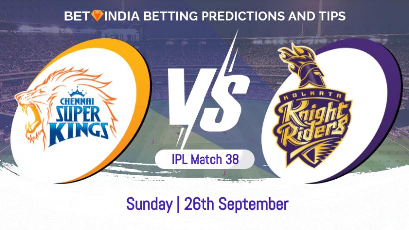 Chennai Super Kings vs Kolkata Knight Riders 38th Match IPL 2021