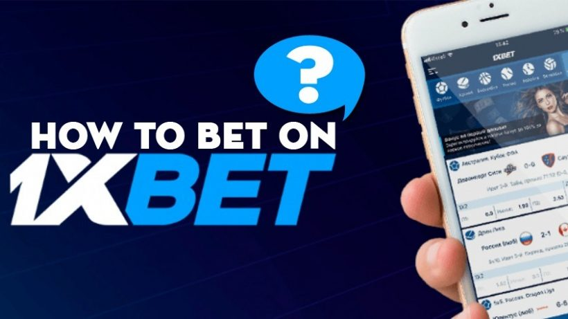 how to place a bet on 1xbet