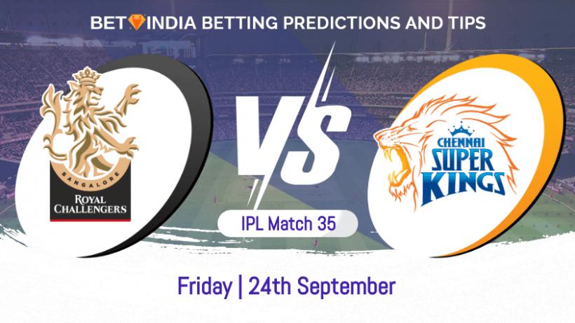 Royal Challengers Bangalore vs Chennai Super Kings 35th Match IPL 2021