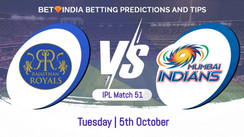 Rajasthan Royals vs Mumbai Indians 51st Match IPL 2021